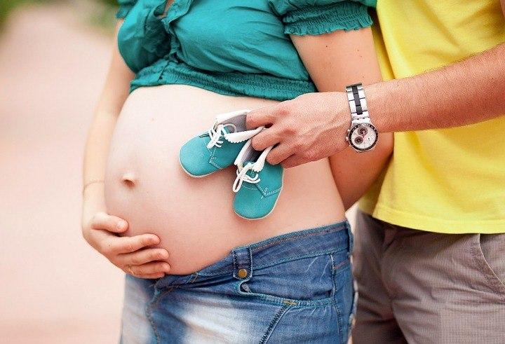 фото с беременной